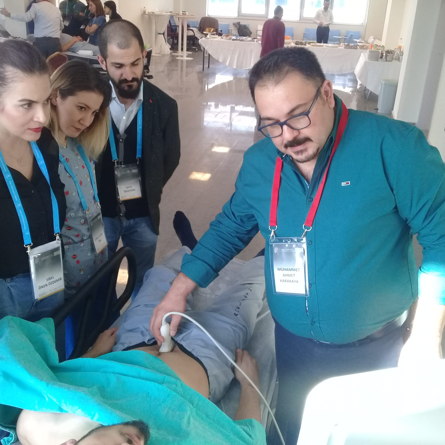 After the 10th USG Usage Course in Intensive Care
